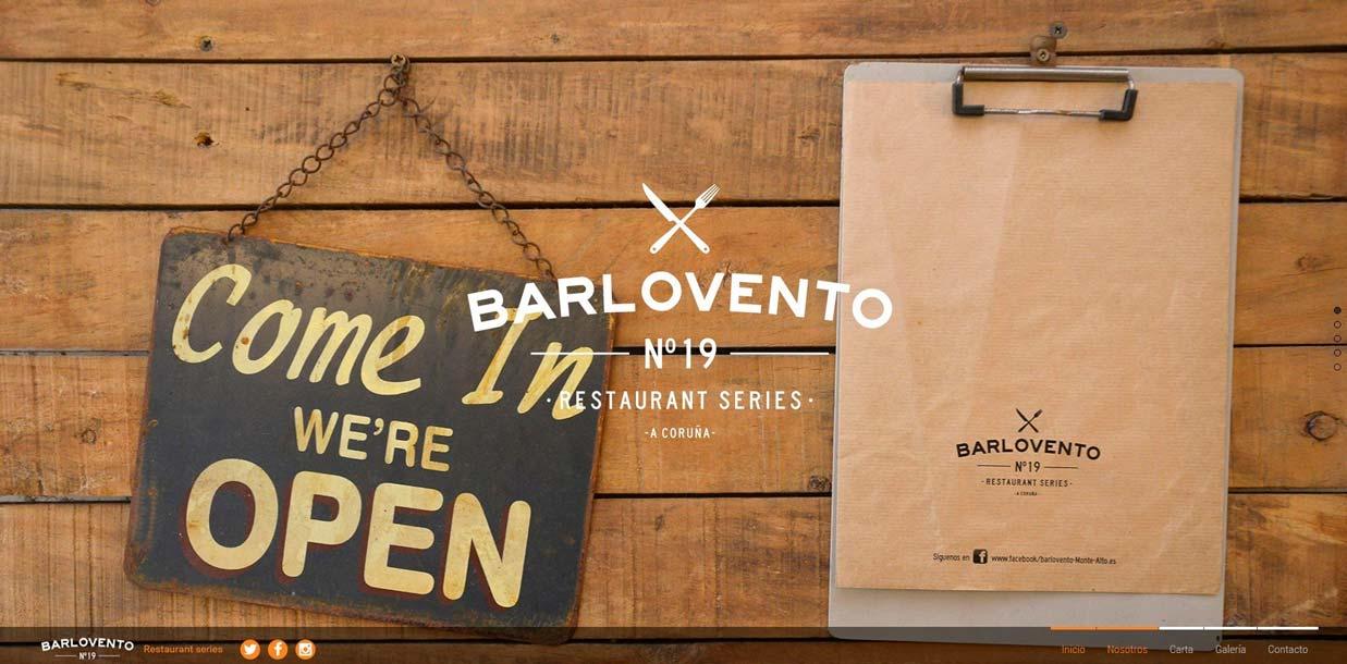 Página web de Barlovento